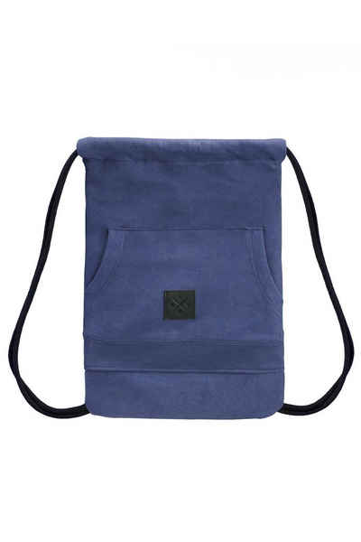 Manufaktur13 Turnbeutel »Hoodie Sports Bag - Sportbeutel, Gymbag«, mit Pullover Bauchtasche