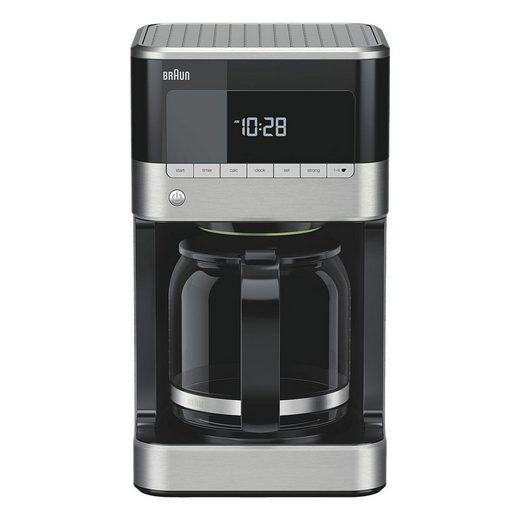 Braun Filterkaffeemaschine KF7120, mit Aromakanne und Timer
