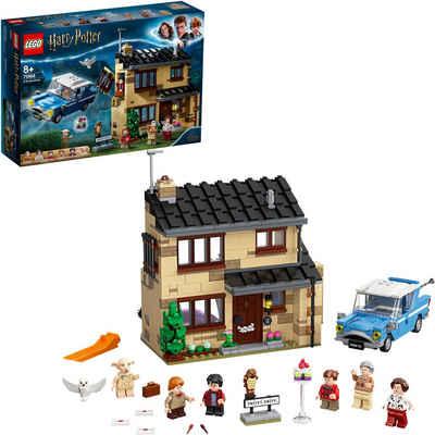 LEGO® Konstruktionsspielsteine »Ligusterweg 4 (75968), LEGO® Harry Potter™«, (797 St), Made in Europe