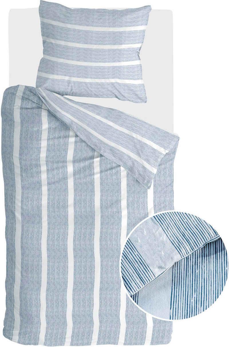 Bettwäsche »Stripe Along«, Walra, mit feinen Streifen