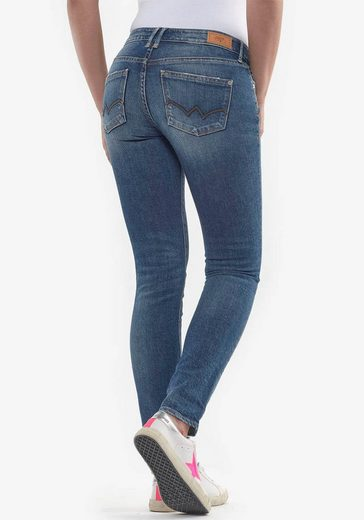 Le Temps Des Cerises Gerade Jeans »300/16« im Authentic Used-Look