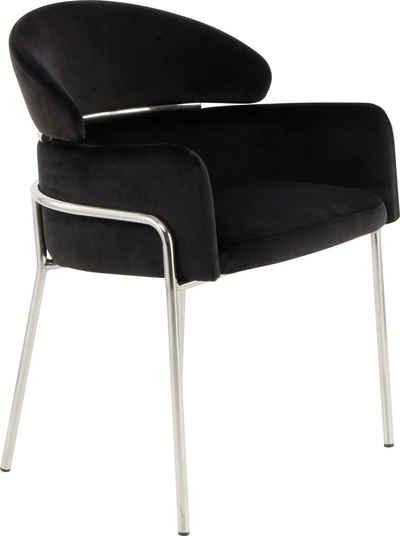 Kayoom Polsterstuhl »Stuhl Corey 125«, mit weichem Sitzkissen