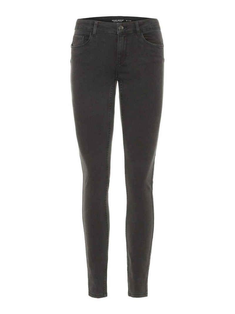 Vero Moda Skinny-fit-Jeans »VMSEVEN NW S SHAPE UP JEANS VI501« Jeanshose mit Stretch