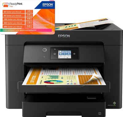 Epson WorkForce WF-7835DTWF Tintenstrahldrucker, (WLAN, automatischer Duplexdruck)