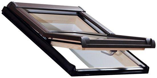 RORO Türen & Fenster Dachfenster »Typ DHE213«, BxH: 74x140 cm, kieferfarben