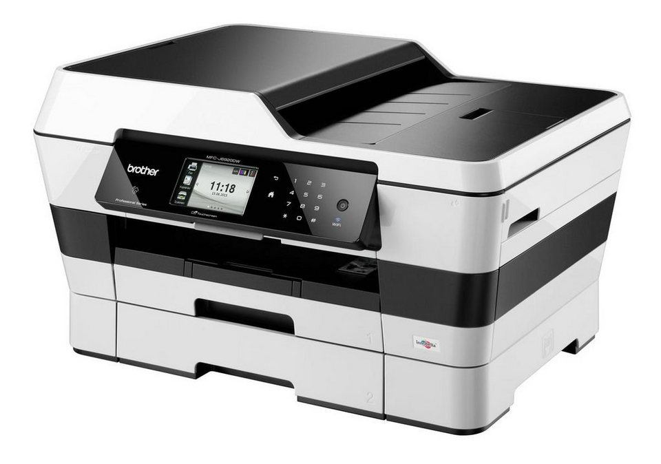 Brother Tintenstrahl-Multifunktionsdrucker »MFC-J6920DW DIN A3 4in1« in Silber