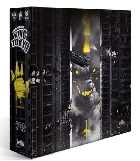 iello Spiel, Familienspiel »King of Tokyo Dark Edition, Familienspiel«, Limitierte Edition