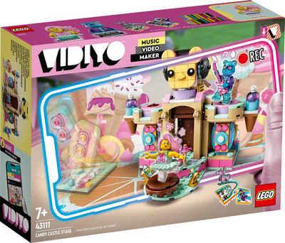 LEGO® Konstruktionsspielsteine »Candy Castle Stage (43111), LEGO® VIDIYO™«, (344 St), Made in Europe