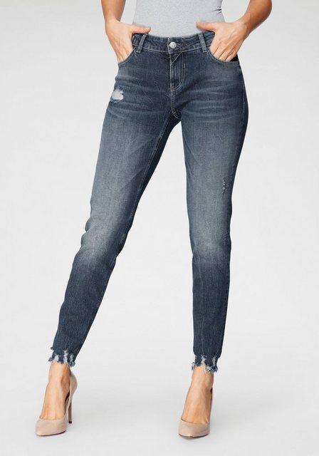 Hosen - BLUE FIRE Skinny fit Jeans »CHLOE BF« mit leicht ausgefranster Kante am Beinabschluss ›  - Onlineshop OTTO
