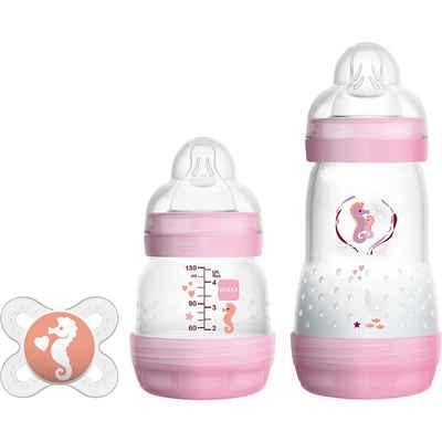 MAM Babyflasche »Easy Start Anti-Colic Starter Set S, rosa«