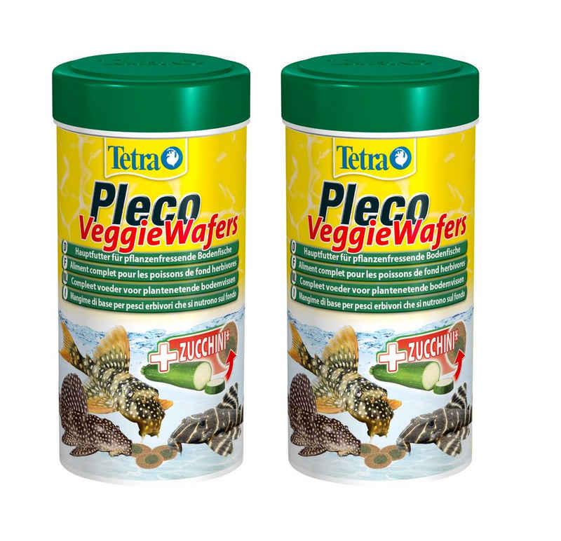 Tetra Fischfutter »Pleco Veggie Wafers«, 2x250 ml