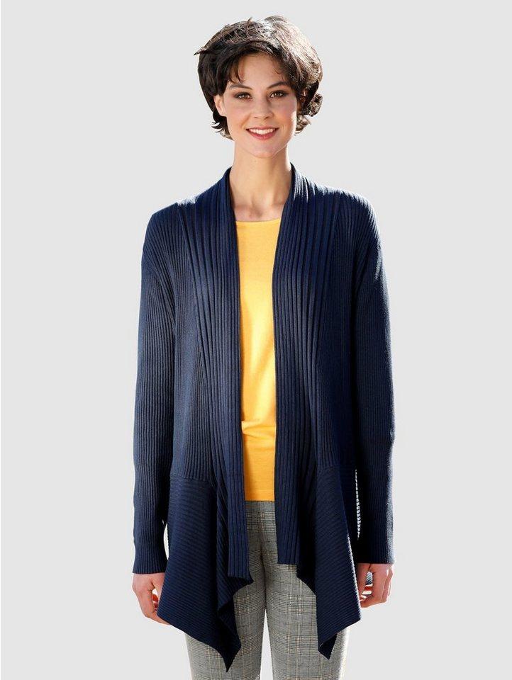 dress in -  Strickjacke in asymmetrischer Form