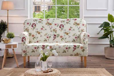 Max Winzer® 2-Sitzer »Juuma«, 1 Teile, Küchensofa mit Federkern, mit Blumenmuster