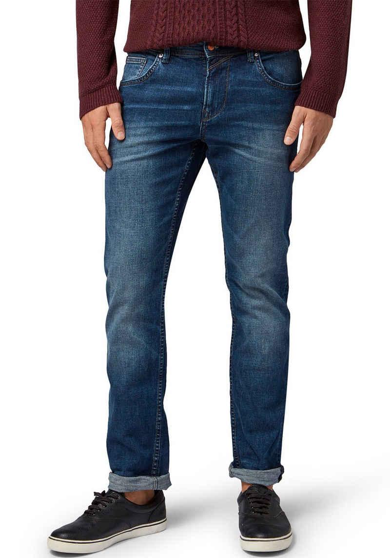 TOM TAILOR Denim Straight-Jeans »AEDAN STRAIGHT«
