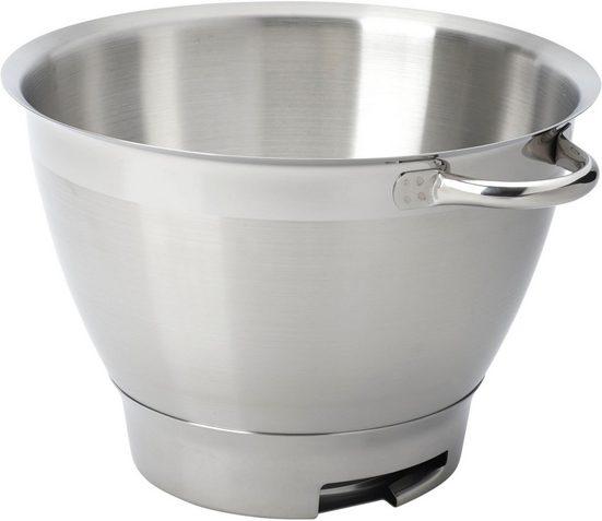 KENWOOD Küchenmaschinenschüssel »Chef Elite KAT521SS«, Edelstahl, geeignet für alle Chef Elite Küchenmaschinen der KVC5000 Serie