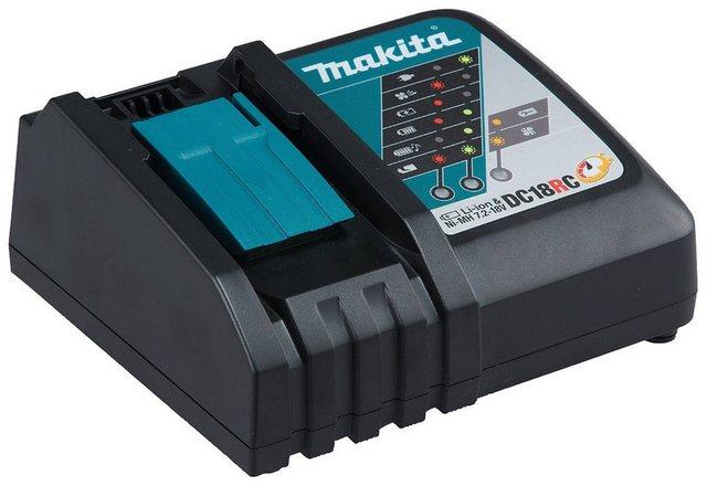 Makita DC18RC Akku-Ladestation Schnellladegerät für Akkus der LXT-Serie mit 14,4 V und 18 V