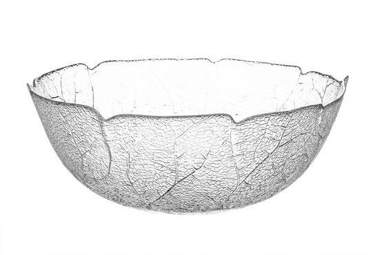 Luminarc Salatschüssel »Aspen 27 cm groß − aus Glas − Salatschale Servierschale spülmaschinenfest«, Glas, (1-tlg)