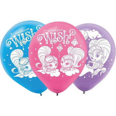 Amscan Luftballon »Luftballon Shimmer & Shine, 6 Stück«