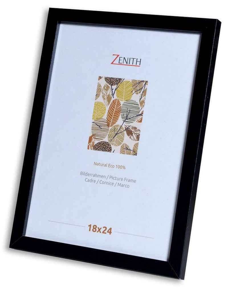 Victor (Zenith) Bilderrahmen »Klee«, 18x24 cm, in schwarz, moderner Holzrahmen mit schmaler Leiste
