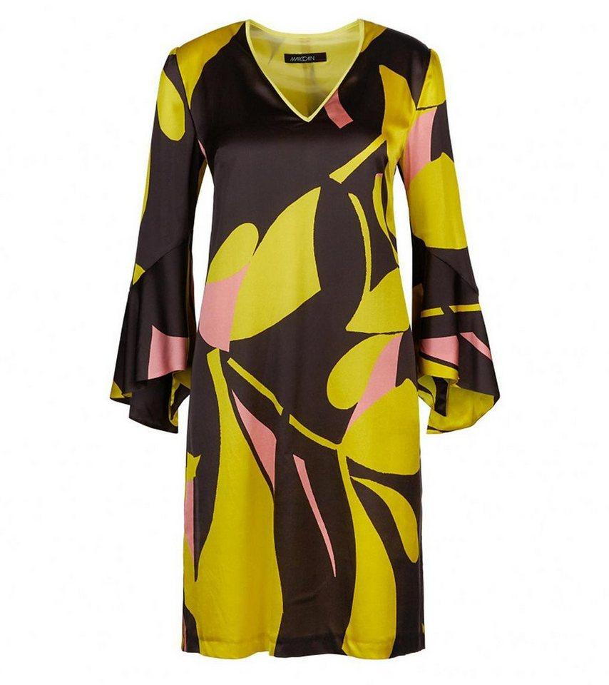 Marc Cain Minikleid Marc Cain Mini Kleid Stilbewusstes Damen Seiden Kleid Mit Kontrastfarbigem Muster Sommer Kleid Bunt Online Kaufen Otto