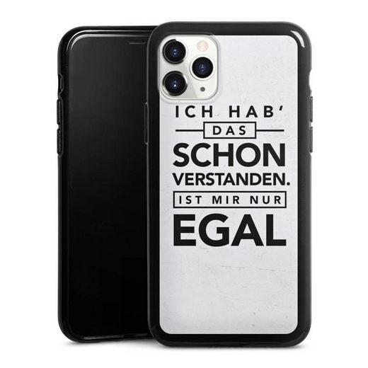 DeinDesign Handyhülle »Schon verstanden« Apple iPhone 11 Pro, Hülle Sprüche Statement Antivalentinstag