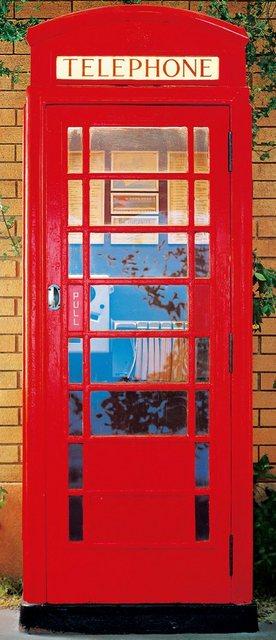 Home affaire Türposter, Telephone Box, 86/200 cm