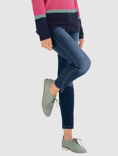 Alba Moda Jeans mit Schlitzen