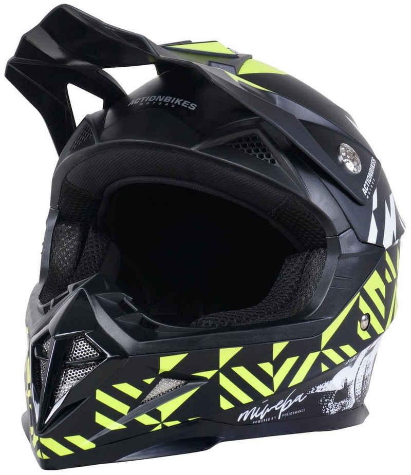 Actionbikes Motors Bike Cross Helm »Hornet«, Norm ECE 22/05