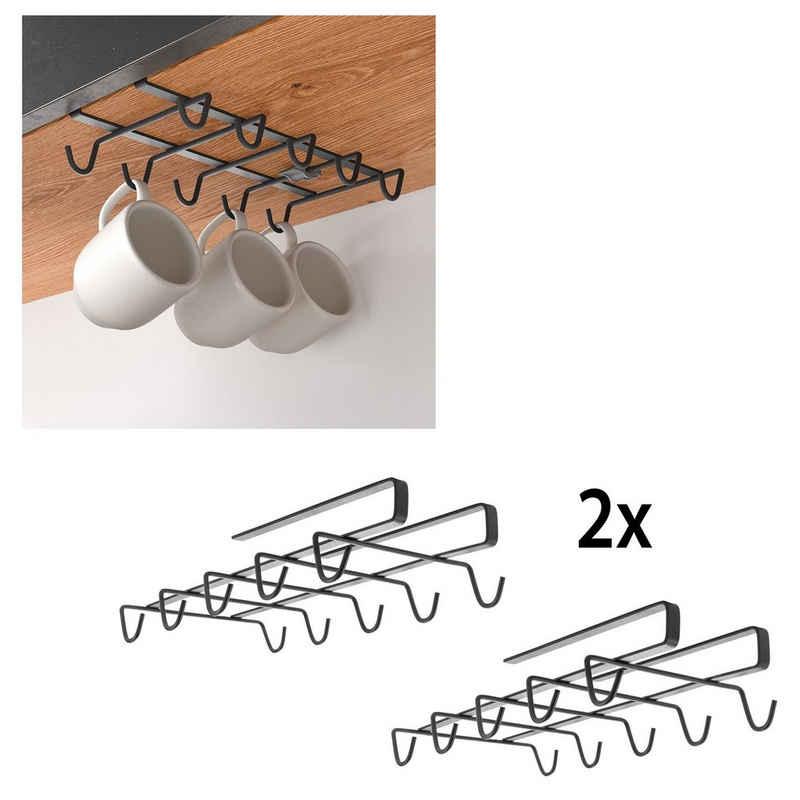 Metaltex Einhängekorb (2 Stück), für 10 Tassem