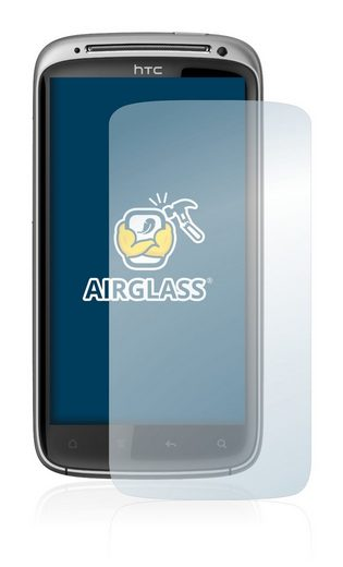BROTECT Schutzfolie »Panzerglasfolie für HTC Sensation Z710E«, Schutzglas Glasfolie klar