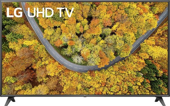 LG 75UP75009LC LCD-LED Fernseher (189 cm/75 Zoll, 4K Ultra HD, Smart-TV, LG Local Contrast, Sprachassistenten, HDR10 Pro)