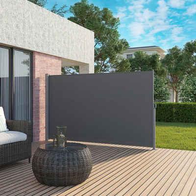 SONGMICS Seitenmarkise »GSA185 GSA205 GSA165« Sichtschutz Sonnenschutz Seitenrollo für Balkon Garten
