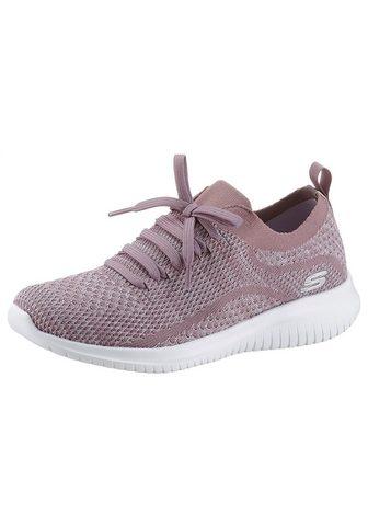 Skechers Slip-On Sneaker su aufgesetzter Schnür...