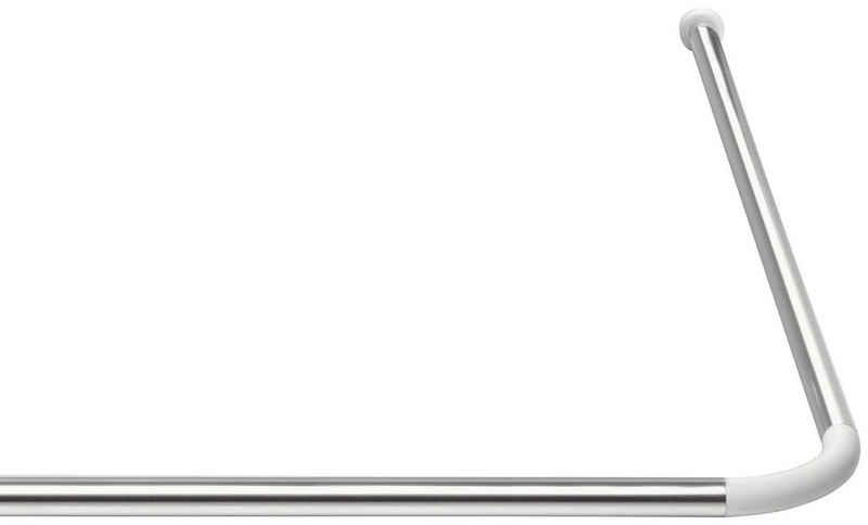 Duschvorhangstange »Eco«, Ridder, Ø 20 mm, kürzbar, für Duschvorhänge
