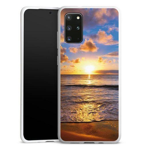 DeinDesign Handyhülle »Strand« Samsung Galaxy S20 Plus, Hülle Meer Sonnenuntergang Urlaub