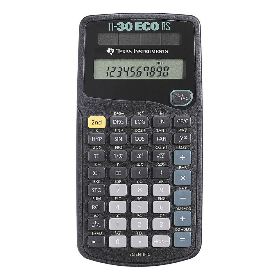 Texas Instruments Schulrechner »TI-30 eco RS«