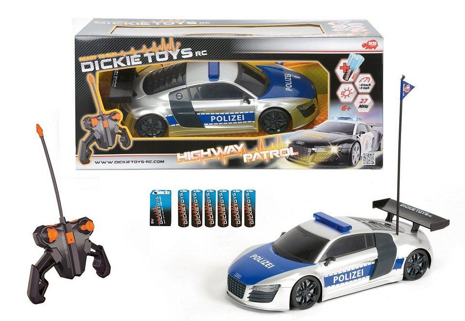 Dickie RC-Komplett-Set Polizeifahrzeug, »Highway Patrol«