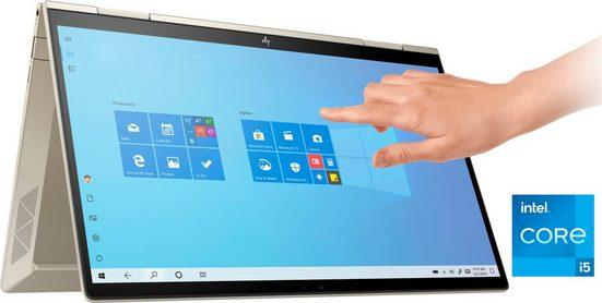 HP ENVY x360 13-bd0255ng Convertible Notebook (33,8 cm/13,3 Zoll, Intel Core i5, Iris© Xe Graphics, 512 GB SSD, Kostenloses Upgrade auf Windows 11, sobald verfügbar)