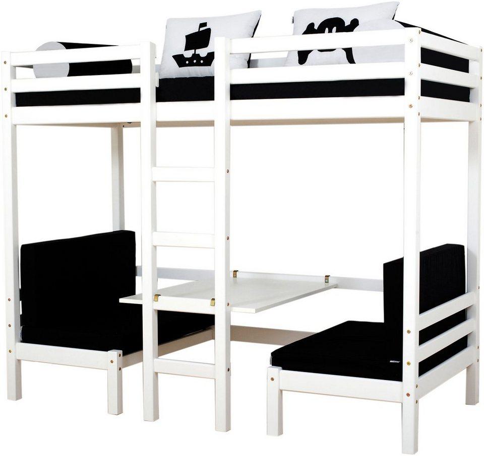 jumbo hochbett hoppekids pirate online kaufen otto. Black Bedroom Furniture Sets. Home Design Ideas