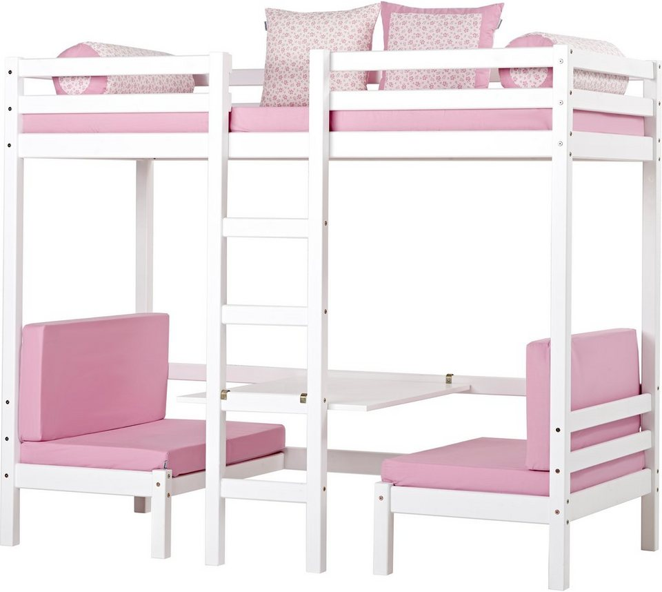 jumbo hochbett hoppekids romantik kaufen otto. Black Bedroom Furniture Sets. Home Design Ideas