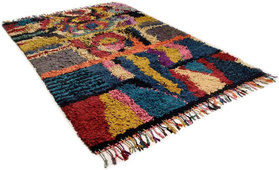 Teppich, Theko, »Woven 1125«, handweb in multi