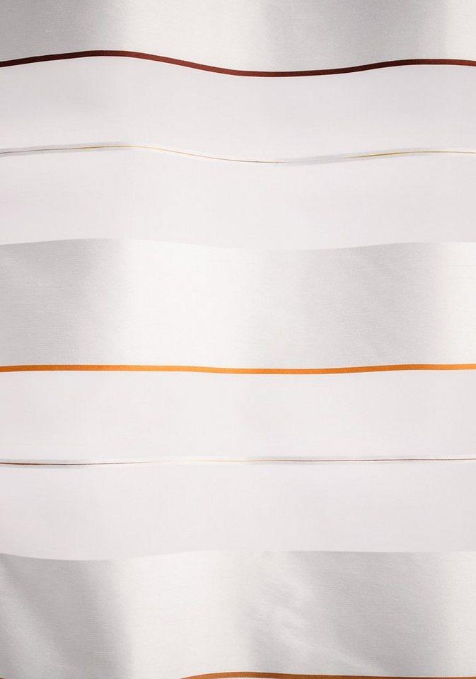 Gardine, Homing, »Vincent«, mit Ösen (1 Stück) in orange