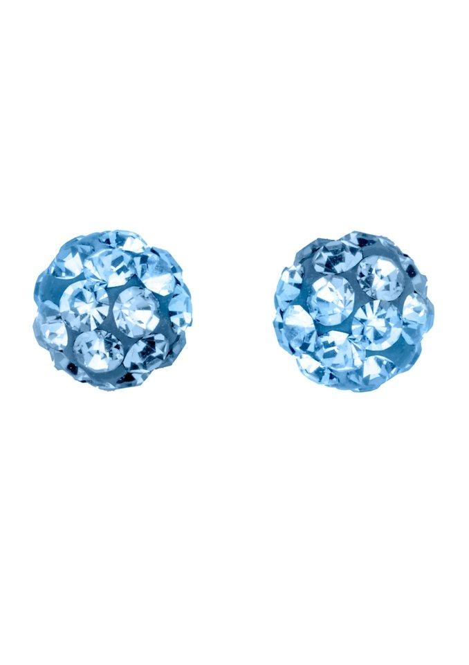 Paar Ohrstecker, Amor, »447119« in blau