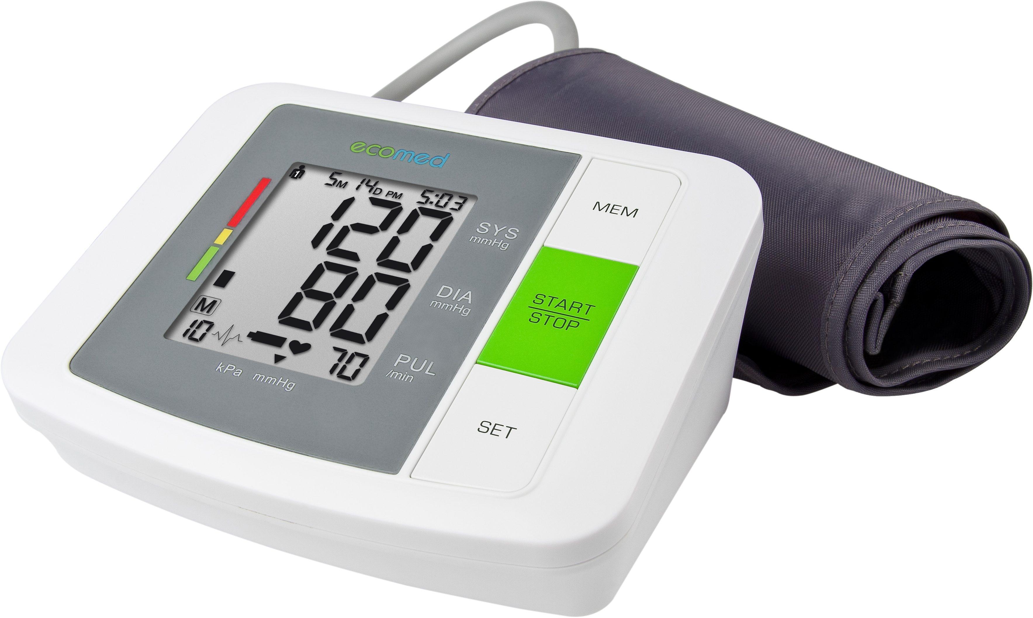 Medisana, Oberarm-Blutdruckmessergerät, ecomed BU-90E