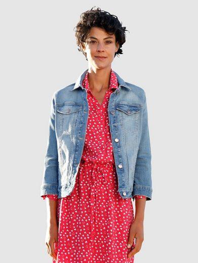 Dress In Jeansjacke in moderner Waschung