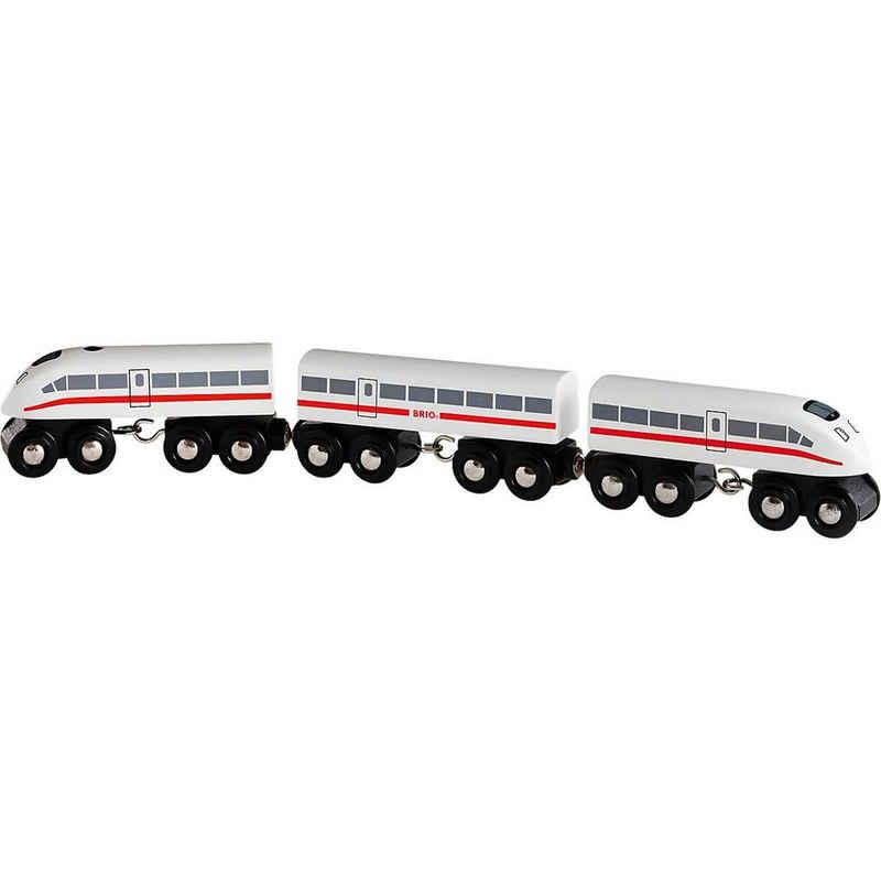 BRIO® Spielzeug-Eisenbahn »Schnellzug mit Sound, Holz, 3-teilig«