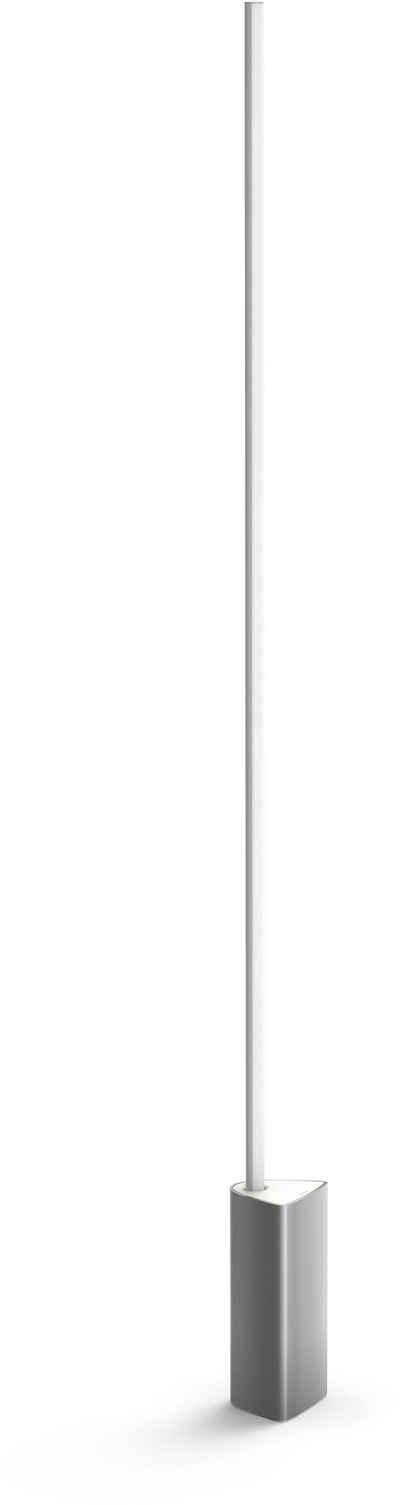 Philips Hue LED Stehlampe »White & Col. Amb. Signe aluminium 2500lm«