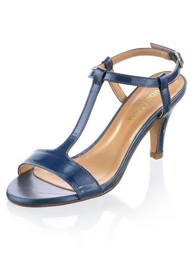 Alba Moda Sandalette aus Rindslackleder