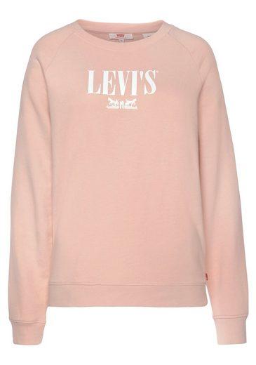 Levi's® Sweatshirt »Relaxed Graphic Crew« mit Logo-Druck auf Vorderteil