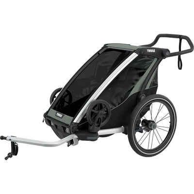 Thule Fahrradkindersitz »Fahrradanhänger Chariot Lite, mint/schwarz«